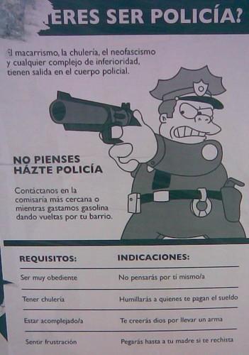 quieres ser policía