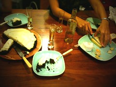 A guinness cake and cheese!