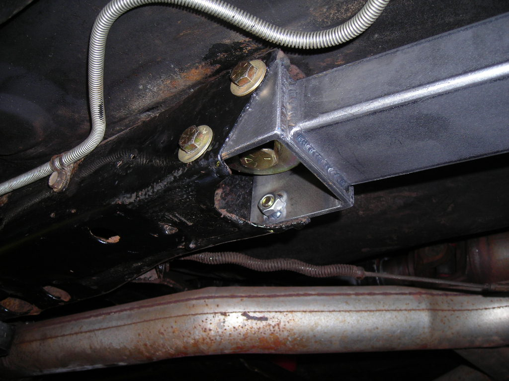 Panhard Bar And Subframe Connectors On A 69 Camaro