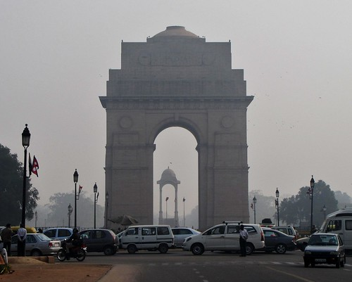 India Gate From Afar