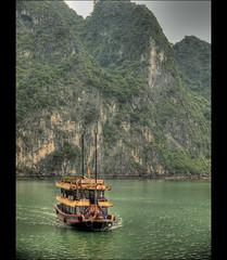Junk Boat on Halong Bay