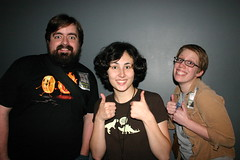 Us and Molly Lewis (Dan Coulter) Tags: chicago us omg w00tstock mollylewis