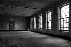 waiting (Desolate Places) Tags: abandoned hospital patient isolation ward shutterisle