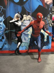 IMG_2390 (SF_SaSa) Tags: blackcat costume cosplay spiderman sasa watchmen winnieleung comiccon2009