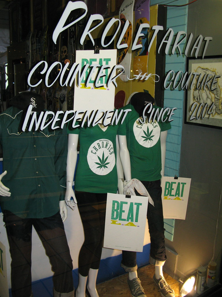 Proletariat Celtics Window Display