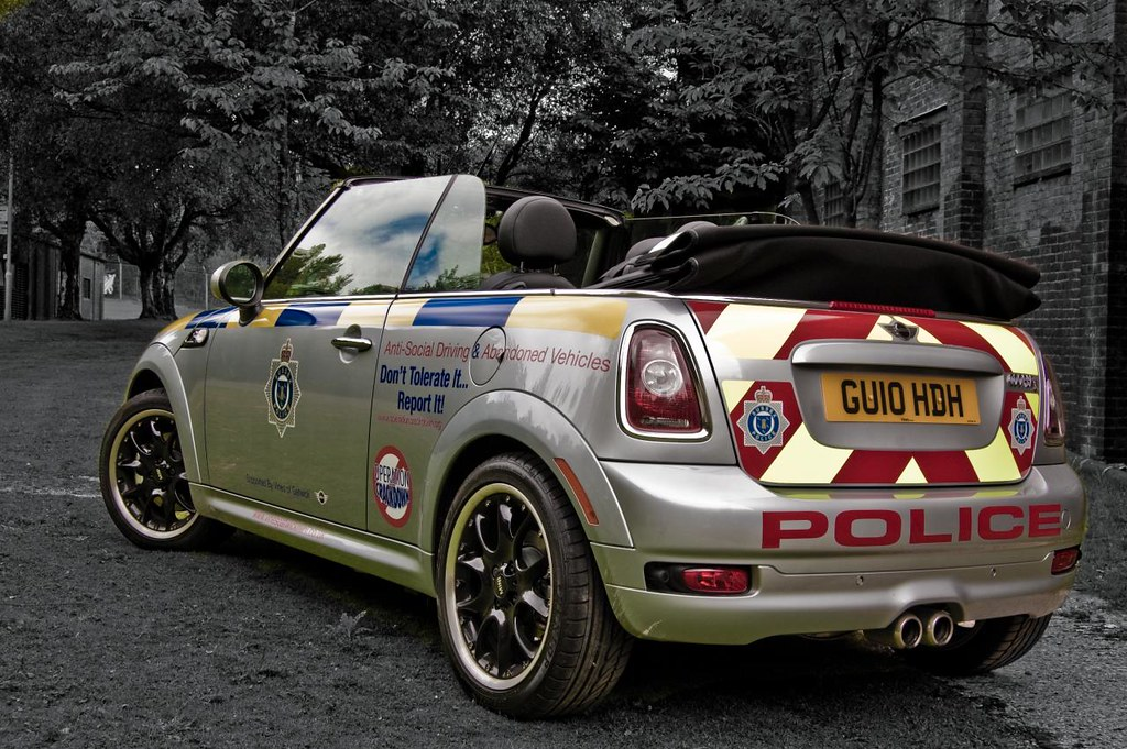 Sussex Traffic Mini Cooper S Cabriolette