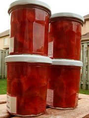 CSA Summer 1: Rhubarb Strawberry Compote