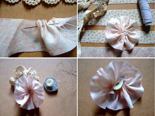 Flower Corsage Tutorial 2