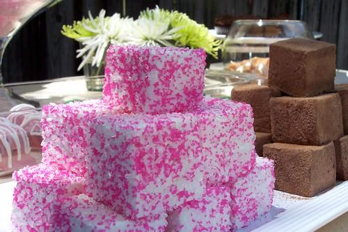 Dessert Table - homemade marshmallows