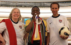 Diplomats at UN Geneva Celebrate World Cup Kickoff