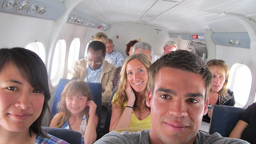 Flying back to Nairobi on a Twin Otter