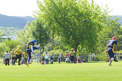 American Football: Hanfrieds Jena vs. Frankfurt Pirates