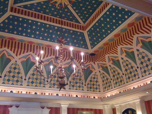 Lobby Ceiling of Hotel Monaco