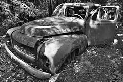 Wanna take a ride? (Maron) Tags: old cars abandoned car sweden forgotten junkyard tcksfors supermarion marionnesje
