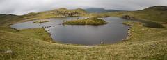 angle tarn panorama (andrewmac666) Tags: panorama mountain clouds landscape nikon walk lakedistrict wainwright 1020mm tarn c2c coasttocoast angletarn d80