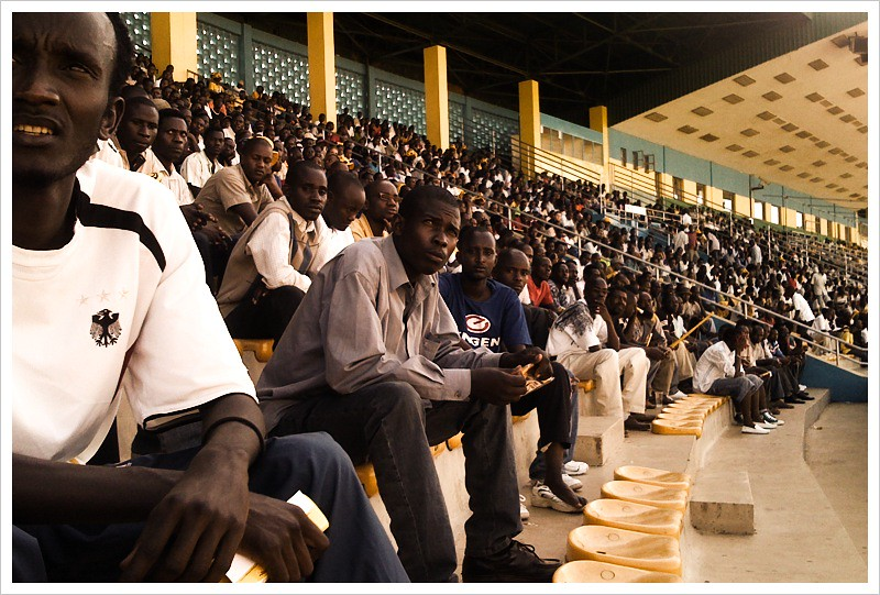 Watching the World Cup at Amahoro Stadium
