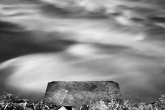 river reflection (nicola tramarin) Tags: longexposure sky bw italy water river italia fiume cielo acqua reflexions bianconero biancoenero canale riflesso veneto rovigo monocromatico lungaesposizione polesine canalbianco nicolatramarin