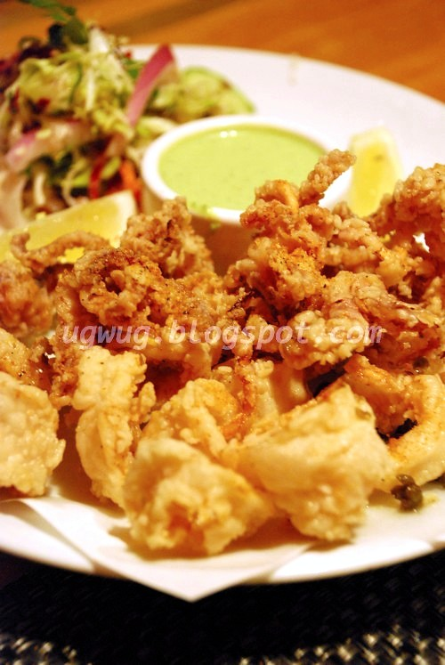 Crispy Fried Calamari with Capers, Lemon & Gremolata Aioli