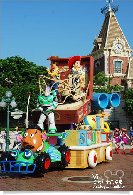 【香港迪士尼】跟著via玩香港(3)~迪士尼卡通人物歡樂巡遊40