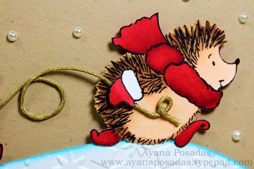 Penny Black Reindeer Card (7)