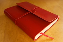A precious thing (garrettc) Tags: birthday family friends leather notebook book journal present recipes