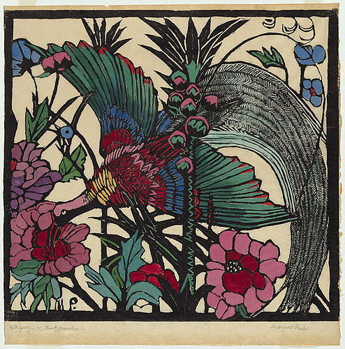Margaret Rose Preston, Bird of Paradise, 1925