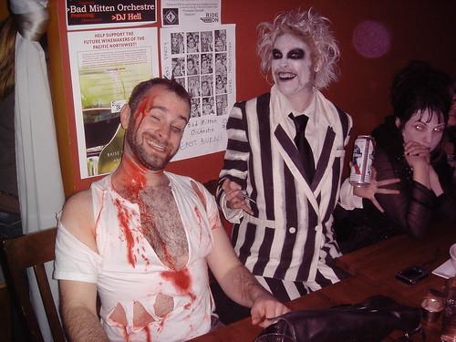 2010 Portland Halloween - East Burn