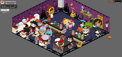Picoween Costume Party: October 29 - Ayuhime's Room