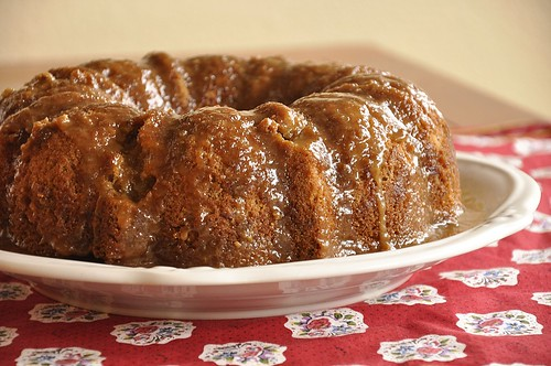 Caramel Apple Bundt Cake - Your Homebased Mom Recipes