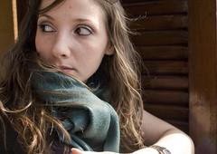 Autumn - La Forza delle Idee (Martina986) Tags: verde green occhi sguardo forza autunno martina 2010 capelli sguardi martina986 martinabuglioni