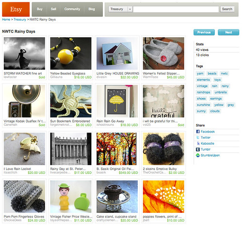 Etsy feature 10/28/10
