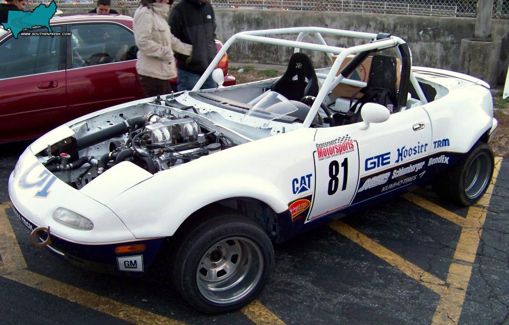 Grassroots Motorsports Miata Grassroots Motorsports Wreck