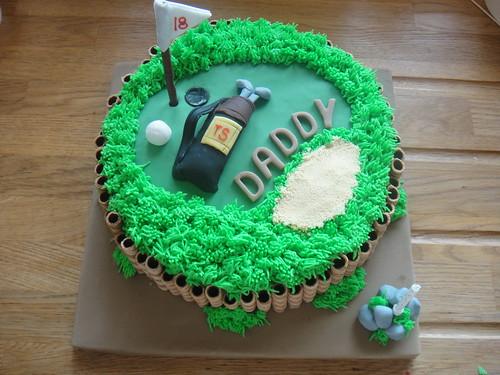 birthday cake 20 years old. Golf Birthday Cake