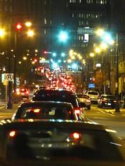 Traffic (historygradguy (jobhunting)) Tags: road street cars boston night ma traffic massachusetts newengland winner mass bostonist challengeyouwinner