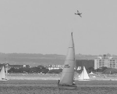 Round The Island Yatch Race Ryde IOW (n80426) Tags: spitfire solent plane aeroplane