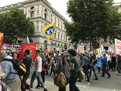 Anti Austerity March, July 2017 (Ian Press Photography) Tags: anti austerity march july 2017 protest protests downing street protester protesters demo demonstration london tory conservative