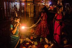 Backstage Series   Therukoothu artists,Mylapore festival,Chennai. (Vijayaraj PS) Tags: performer stageperformer artist therukoothu makeup faceofartist india chennai tamilnadu culture colours tamilnadutradition tradition