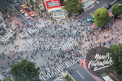 shibuya crossing scramble in Shibuya, Tokyo, Japan (Yanis Ourabah) Tags: japan japanese culture tradition traditional tourism travel traveller tourist agency people landscape nature outdoor outdoors destination explore discover discovery explorer japon japonais asia asian mountain city street color colour night day summer spring temple shrine yanis ourabah nikon d750 50mm 14 70200 28 shibuya crossing scramble crowd crowdy traffic original top awesome great beautiful 109