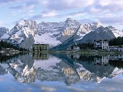 Misurina Lake Italy ~Lago Misurina Italia ~ (stephgum32807) Tags: italy lake reflections misurina mywinners thebestofday gününeniyisi lagomisurinaitalia