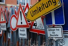 "Road Signs (Tedder13) Tags: road signs germany oberndorf ""nikonflickraward"""