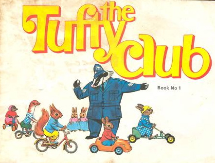 Tufty Club book cover (RoSPA)