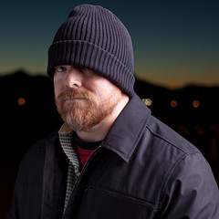 Thug Look (todd*) Tags: portrait cold me hat self beard outside dusk todd thug
