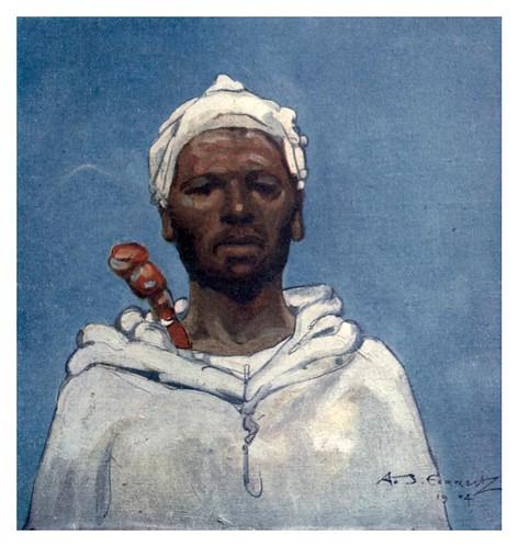 042-Un campesino marroqui-Morocco 1904- Ilustraciones de A.S. Forrest