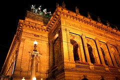 National Theatre in Prague (Oscar von Bonsdorff) Tags: summer sky black june juni night canon dark long exposure theater prague theatre prag praha praga tschechien czechrepublic 2009 photographing praag nationaltheatre rpubliquetchque teater xsi almamater tsjechi tjekkiet repblicacheca  keskuu repubblicaceca cehia esko tjeckien csehorszg nrodndivadlo tsekki prg 450d cechia tkkland   ekcumhuriyeti tehhi ynphobblaghtheck teaatteri czechopera