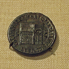 Bronze sestertius of Nero