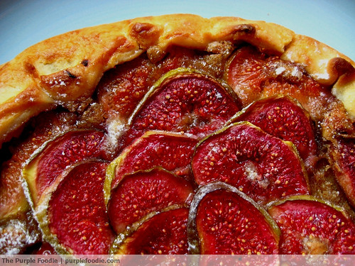 Fig Tart with Vanilla Scented Frangipane