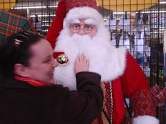 mouthless santa