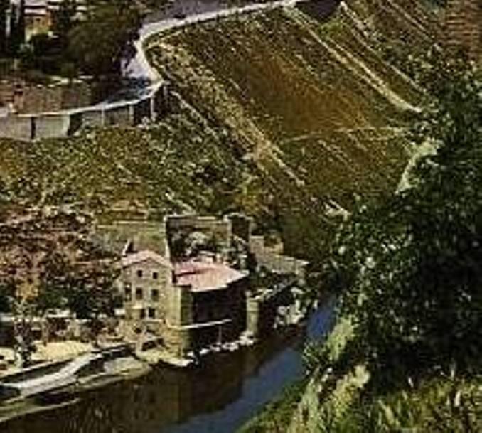Casa del diamantista en 1976 tras ser restaurada