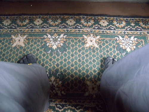 Vibrams on the carpet
