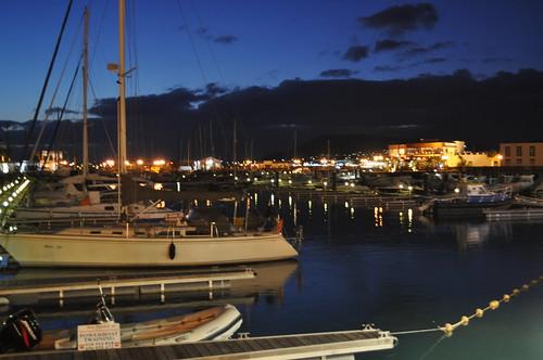 Vista de la Marina Rubicón